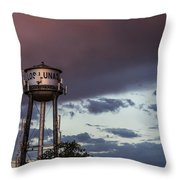 Los Lunas Water Tower Throw Pillow