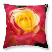 Losing The Yellow Throw Pillow