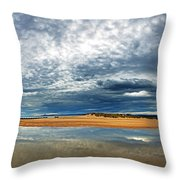 Lossiemouth Pano Throw Pillow