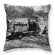 Lost Also Throw Pillow