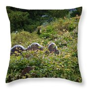 Lost Amongst The Vines Throw Pillow