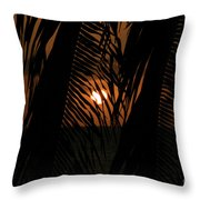 Lost And Found In Sunset Land Throw Pillow