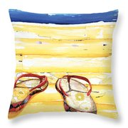 Lost At Sea Throw Pillow by Danny Phillips