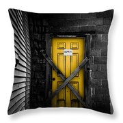 Lost Control Throw Pillow by Bob Orsillo