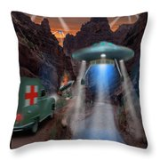 Lost Film Number 3 Throw Pillow
