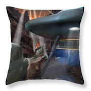 Lost Film Number 5 Throw Pillow