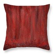 Lost Garden- Marsala Art Throw Pillow