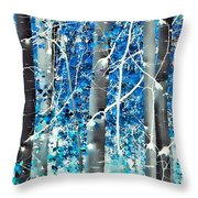Lost In A Dream Throw Pillow by Don Schwartz
