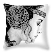 Lost In A Senator's Thoughts Throw Pillow