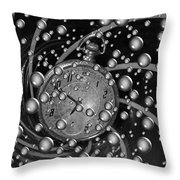 Lost In A Space And Time Throw Pillow