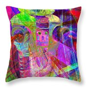Lost In Abstract Space 20130611 Long Version Throw Pillow