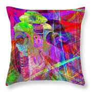 Lost In Abstract Space 20130611 Throw Pillow