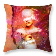 Lost In Art Throw Pillow