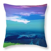 Lost In Clouds I Throw Pillow