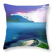 Lost In Clouds II Throw Pillow
