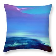 Lost In Clouds Iv Throw Pillow