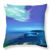 Lost In Clouds V Throw Pillow