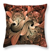 Lost In Dreams Abstract Throw Pillow