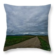 Lost In France Throw Pillow