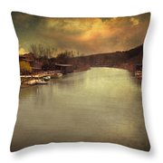 Lost In Life II Throw Pillow