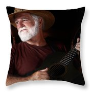 Lost In Song Throw Pillow