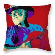 Jack Pop Art Throw Pillow