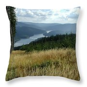 Lost In The Beauty Of Pure Michigan  Throw Pillow