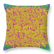 Lost In The Crowd Throw Pillow