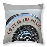 Lost In The Fifties Throw Pillow