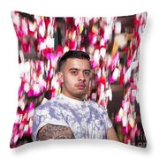 Lost In The Mood Throw Pillow