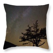 Lost In The Night Throw Pillow