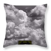 Lost In The Storm Throw Pillow