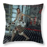 Lost In Time Throw Pillow