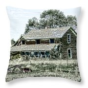 Lost In Wyoming Throw Pillow