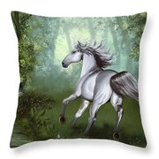 Lost In The Forest Throw Pillow