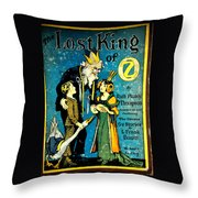Lost King Of Oz Throw Pillow