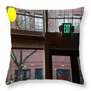 Lost Lake For Breakfast Throw Pillow