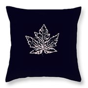 Lost Leaves Throw Pillow