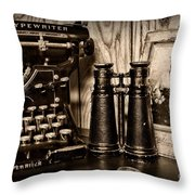Lost Love In Black And White Throw Pillow