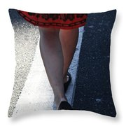 Lost My Beauty Throw Pillow