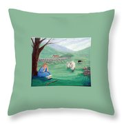 Lost No More Throw Pillow