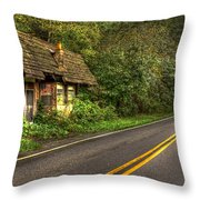Lost Opportunity Great Smokey Mountains Throw Pillow