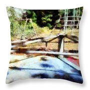 Lost Playground Throw Pillow