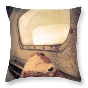 Lost Puppy Throw Pillow