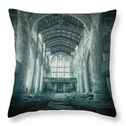 Lost Religion Throw Pillow
