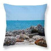 Lost Rock Throw Pillow