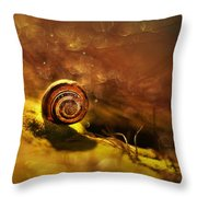 Lost Shell Throw Pillow