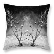 Lost Soles Throw Pillow