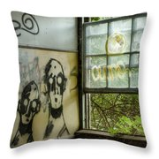 Lost Souls - Abandoned Places Throw Pillow