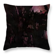 Lost Sparrow Throw Pillow